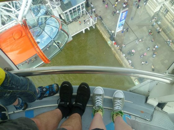 London Eye Feet