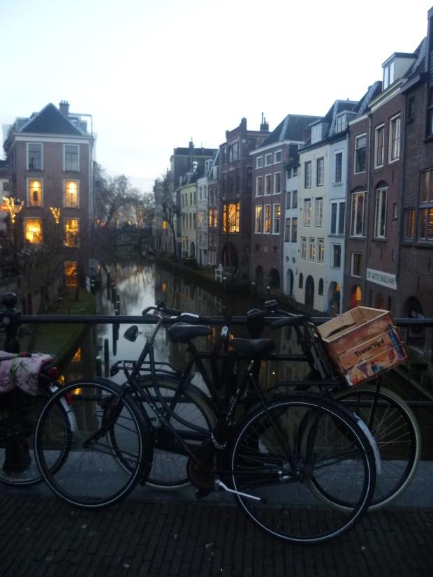 Bikes & canal, Utrecht
