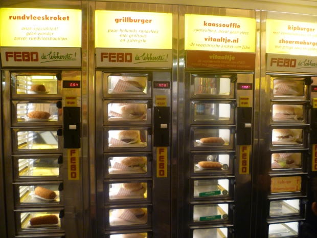 Dutch deep fried snacks: FEBO