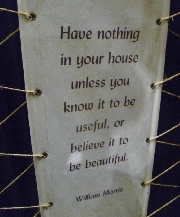 William Morris quote