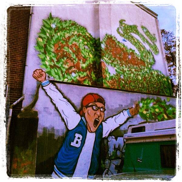 Street art in Hilversum