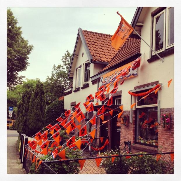 Oranje gekkenhuis!