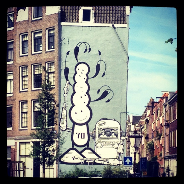 Street Art, Prinsengracht