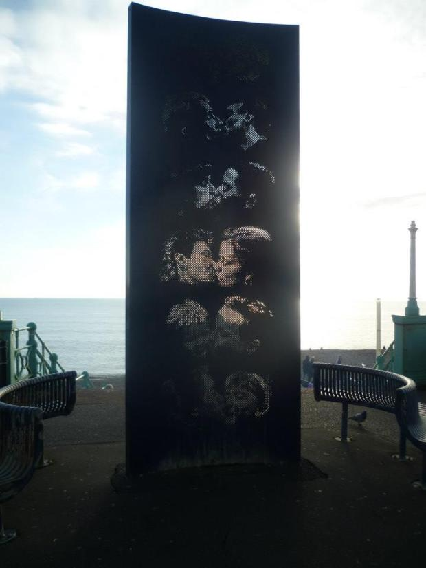 Kissing Wall, Brighton