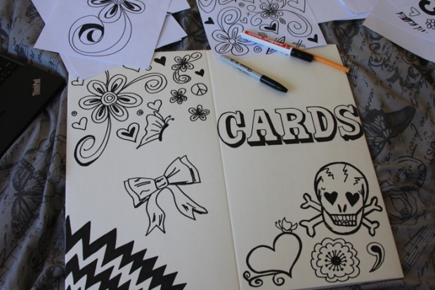 Card post box