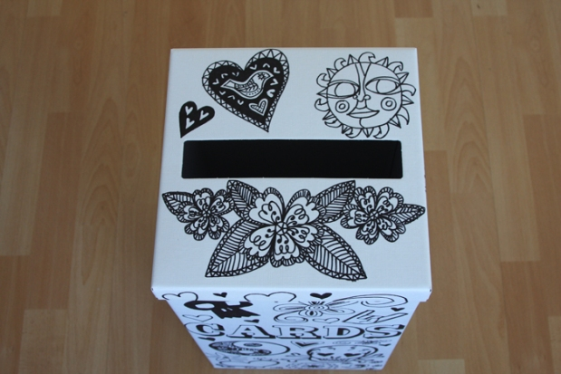 Wedding card post box