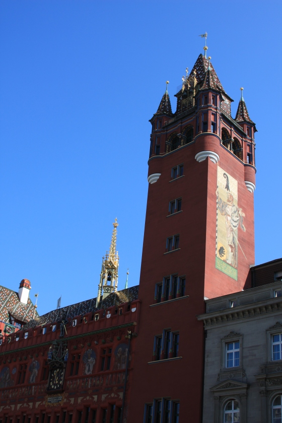 Basel Town Hall, Marktplatz, Basel, Switzerland