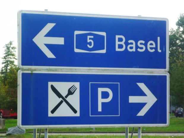 En route to Basel