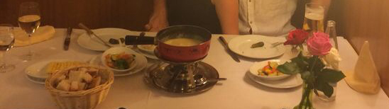 Cheese fondue, Basel, Switzerland