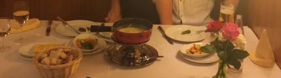 Cheese fondue, Basel, Switzerland