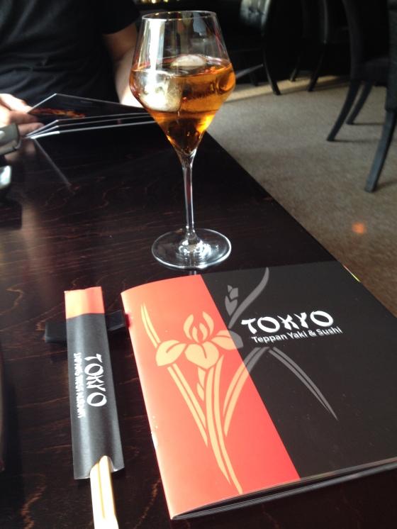Plum wine & Menu @ Tokyo, Hilversum