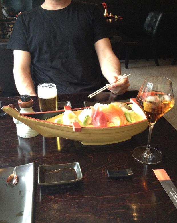 Sashimi Boat! @ Tokyo, Hilversum