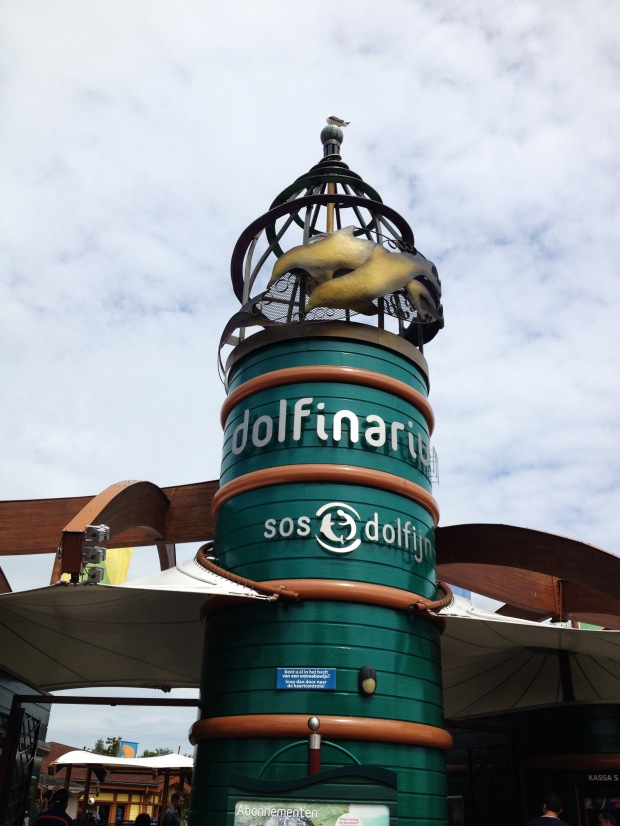 Entrance to the Dolfinarium, Harderwijk,