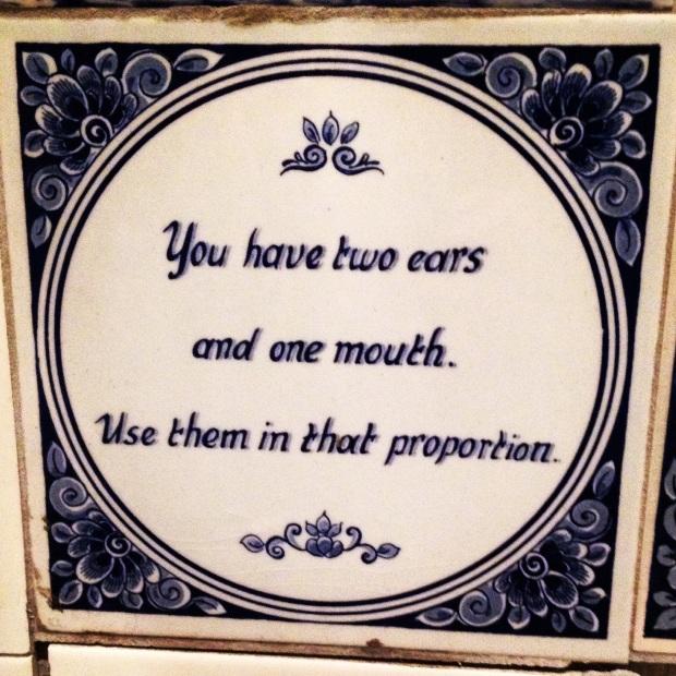 Wisdom tiles