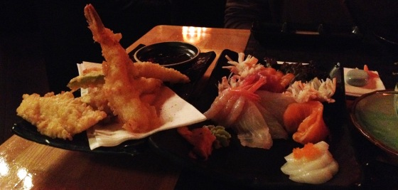 Tempura and Sashimi @ Ai Uchi