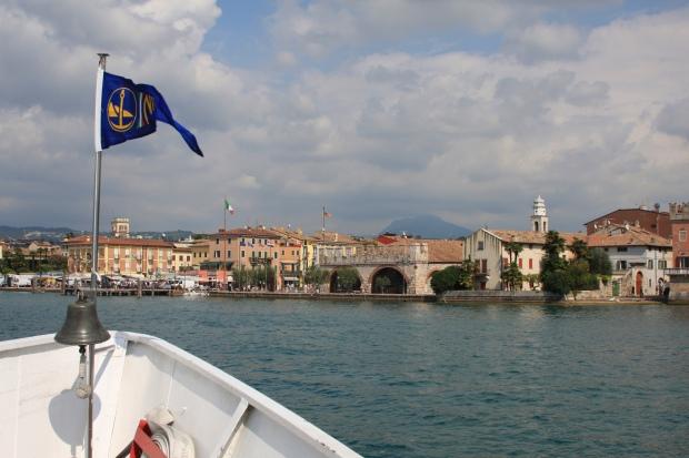 Boat trip, Lake Garda