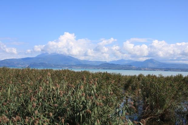 View from campsite Tiglio