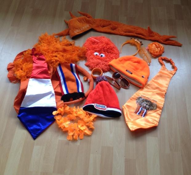 Oranje spullen