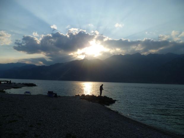 Fisherman, Navene, Lake Garda