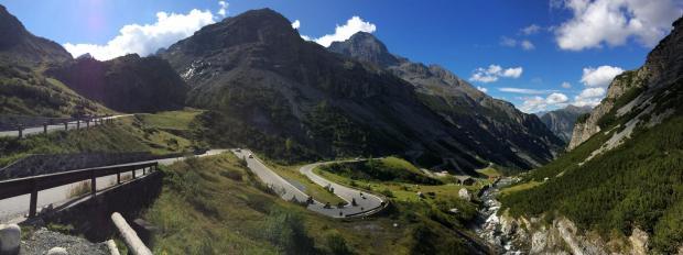 Stelvio Pass Panorama