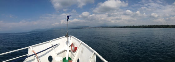 Boat trip from Peschiera to Garda