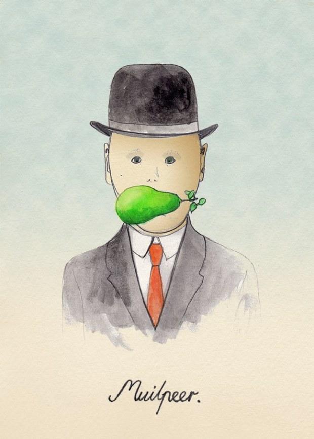 Muilpeer, courtesy of Laura Frame Illustration