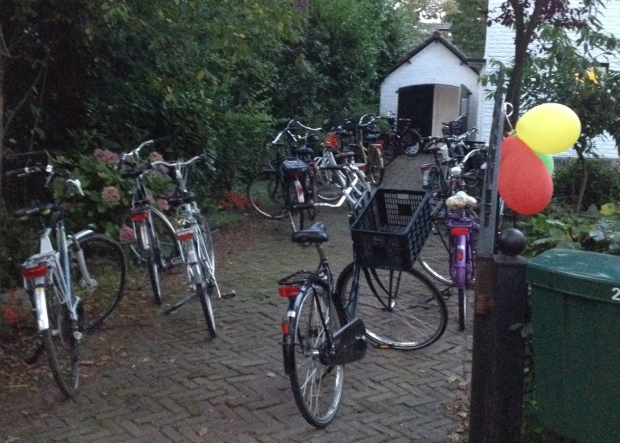 A typical scene at a Dutch Birthday Party