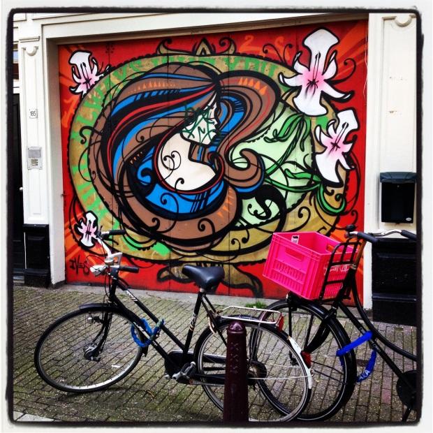 Street Art, Prinsengracht, Amsterdam