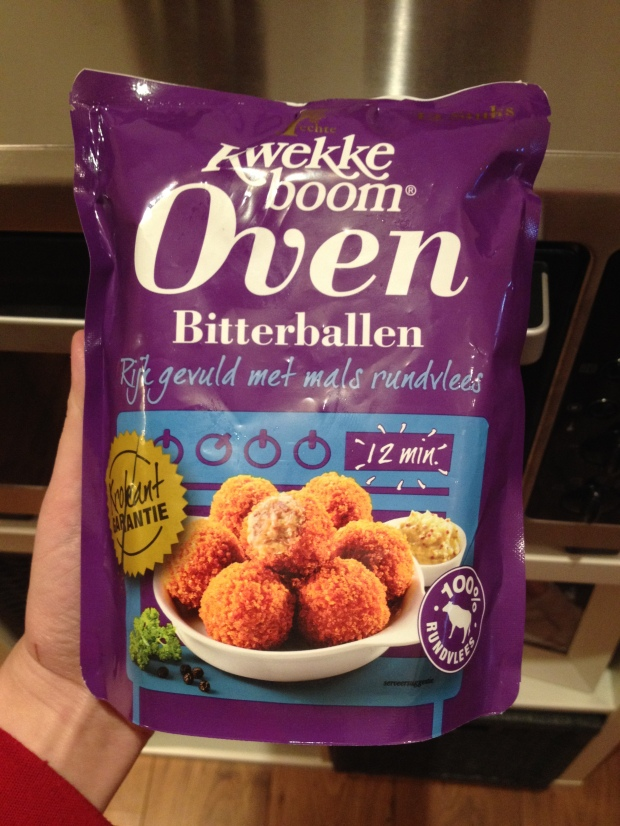 OVEN bitterballen... what the heck!?