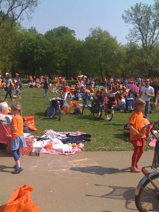 Vondelpark Queens Day