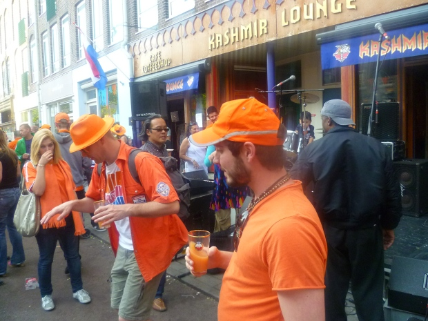 Dancing on Queens Day