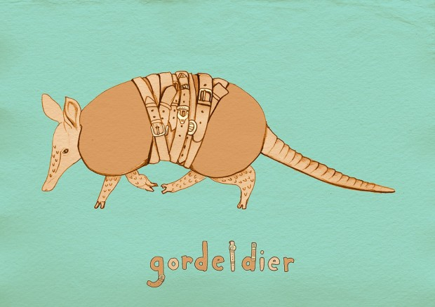 Gordeldier