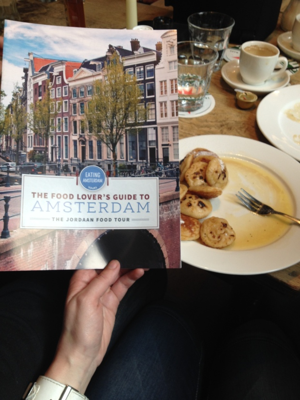 Poffertjes on the Eating Amsterdam Tour