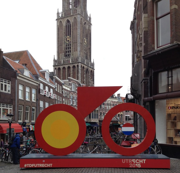 Utrecht gearing up for the Tour de France in July