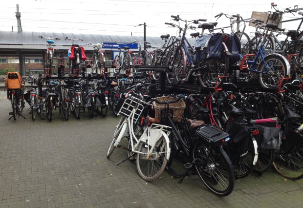 Bikes at Hilversum Station