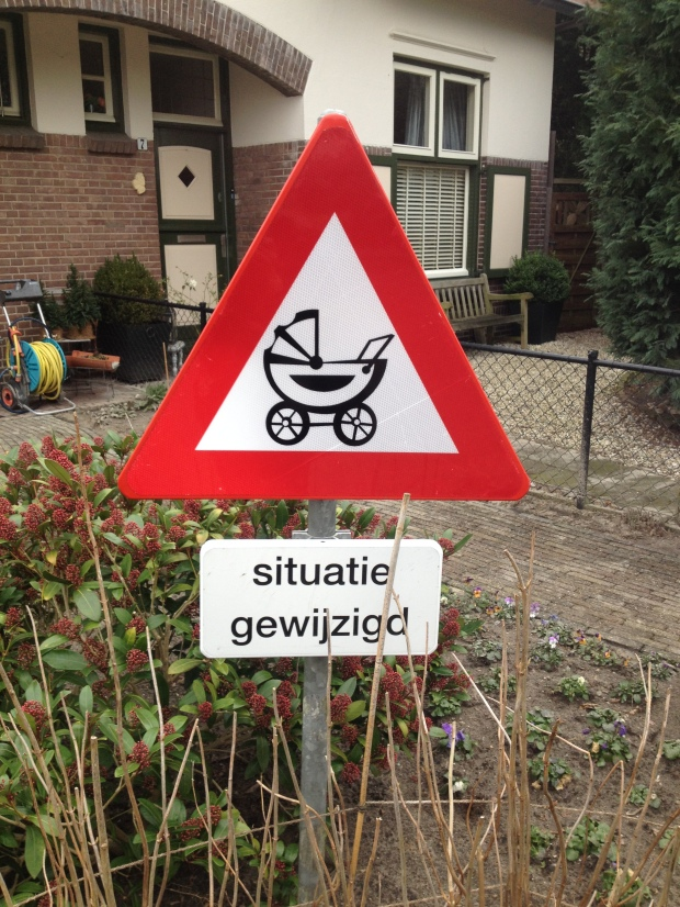 Situatie gewijzigd = situation changed
