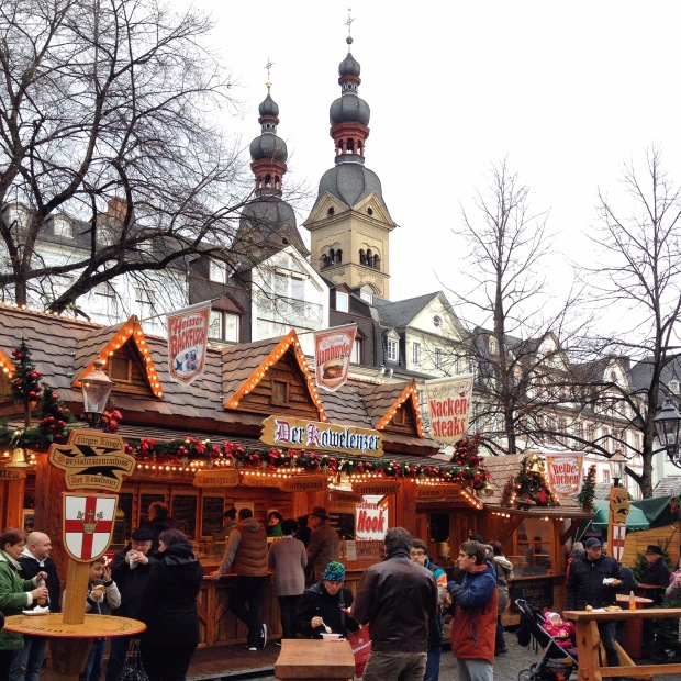 Kerstmarkt, Koblenz, Germany