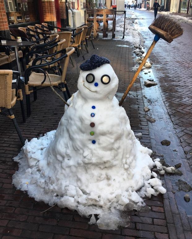 Snowman in Arnhem