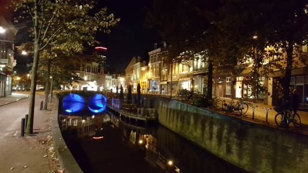 Leeuwarden by night. A photo NOT of the red light district.
