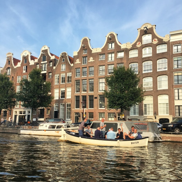 Amsterdam by boat