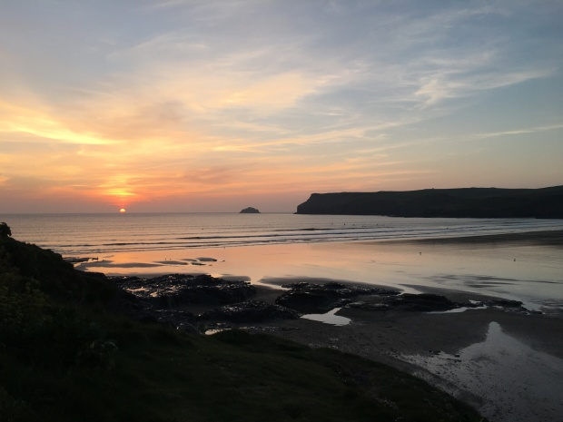 Sunset, Polzeath, Cornwall