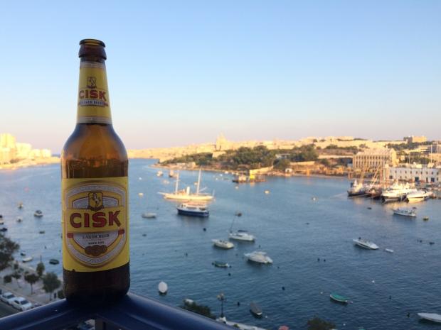 Cisk beer, Sliema, Malta