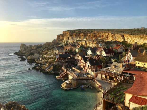 Popeye Village / Anchor Bay, Mellieha, Malta
