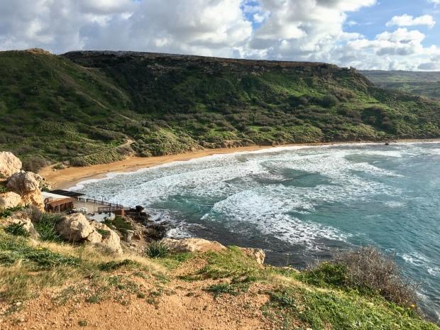 Ghajn Tuffieha Bay, Mellieha, Malta