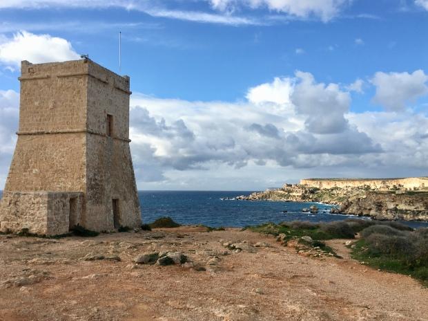 Ghajn Tuffieha Tower, Mellieha, Malta