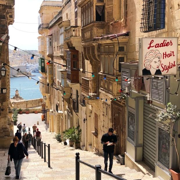 Valletta street scene